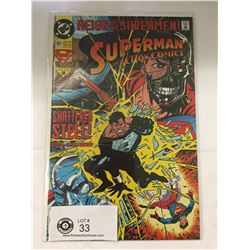 DC Comics Superman in Action Comics No. 691. In Bag on White Board