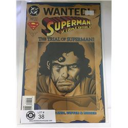 DC Comics Superman in Action Comics No. 716  In Bag on White Board