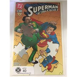DC Comics Superman in Action Comics No. 746  In Bag on White Board