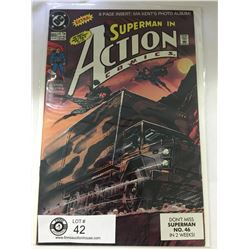 DC Comics Superman in Action Comics No. 655 In Bag on White Board