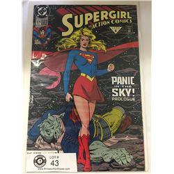 DC Comics Supergirl in Action Comics No. 674  In Bag on White Board