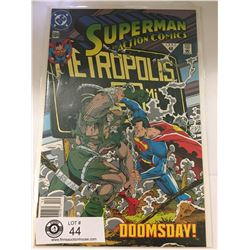 DC Comics Superman in Action Comics No. 684 In Bag on White Board
