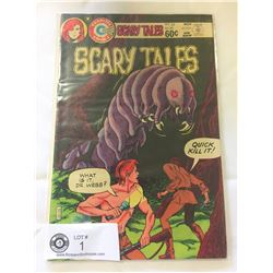 Charlton Comics Scary Tales no.35 in bag on white board