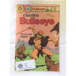 Charlton Comics Bullseye No.5