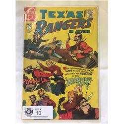 Charlton Comics Texas Rangers No.76 in bag on white boardCharlton Comics Texas Rangers No.76 in bag