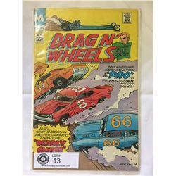 Modern Comics Drag N Wheels No.50 in bag on Board