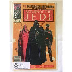 Marvel Comics Return of The Jedi in Bag on Board