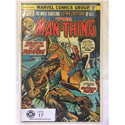 Marvel Comics The Man Thing No.13 in Bag on Board