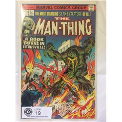 Marvel Comics The Man Thing No.17 in Bag on Board