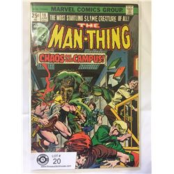 Marvel Comics The Man Thing No.18 in Bag on Board