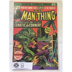 Marvel comics The Man Thing No.21 in Bag on Board