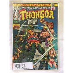 Marvel Comics Thongor No.29 in Bag on Board