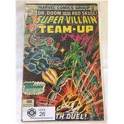 Marvel Comics Super-Villain Team-Up No.12 in Bag