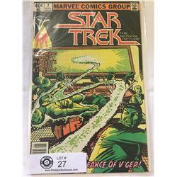 Marvel Comics Star Trek No.2 in Bag on Board