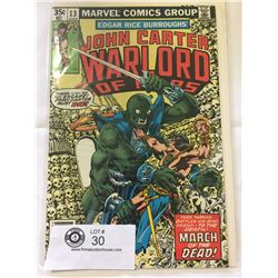 Marvel Comics Warlord of Mars No.13 in Bag on Board