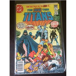 DC Comics The New Teen Titans. No 2 in Bag on White Board