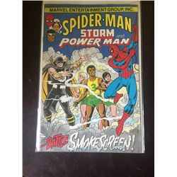 Marvel Comics Spiderman. in Bag on White Board