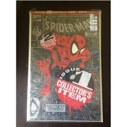 Marvel Comics Spiderman.No1 Signed by Todd McFarlane in Bag on White Board