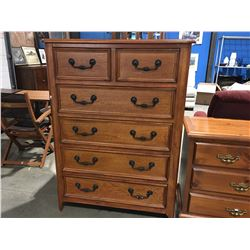 "HIGHBOY DRESSER - 6 DRAWER (40"" X 19"" X 54"")"