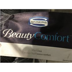 QUEEN SIZE SIMMONS BEAUTY COMFORT MARLOWE COMFORT TOP - MED