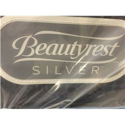 QUEEN SIZE SIMMONS BEAUTYREST PILLOW TOP SILVER - FIRM