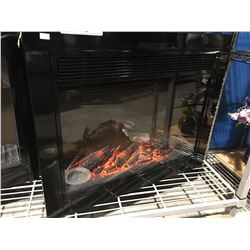 "PARAMOUNT ELECTRIC FIREPLACE INSERT WITH REMOTE (MODEL BLT-999A-12) 23"" OPENING OR LARGER"