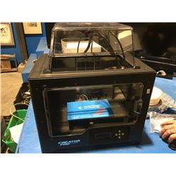 CREATOR PRO 3D PRINTER WITH 4 SPOOLS OF FILAMENT, IPAD MINI & 3D SCANNER