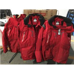 GILL OS2 JACKETS X 3 (SMALL/MEDIUM & LARGE)
