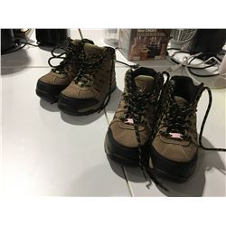 WORKLOAD CME MAXTOE WORK BOOTS (SIZE 8) & LADIES (SIZE 7)