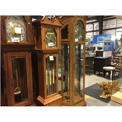 HERITAGE GRANDMOTHER CLOCK - WESTMINSTER CHIME (CHIME SILENT OPTION)