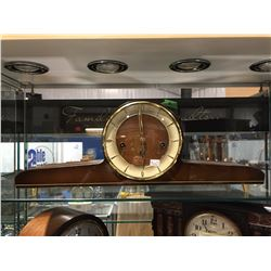 TELEP WESTMINSTER CHIME MANTLE CLOCK - GERMAN MOVEMENT - CIRCA LATE 1950'S