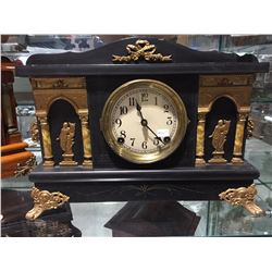 SESSIONS ADEMANTINE MANTLE CLOCK (USA) CIRCA 1900'S