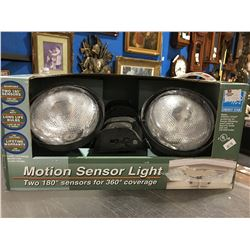 PRO-CONNECT MOTION SENSOR LIGHT (TWO 180 DEGREE SENSORS FOR 360 DEGREE COVERAGE) - NEW IN BOX