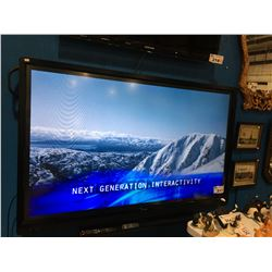 "SHARP COMMERCIAL 60"" LCD MODEL PN-L603B WITH REMOTE (MINOR SCRATCH IN SCREEN BUT UNNOTICEABLE WHRN"