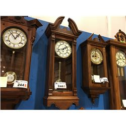 HENTSCHEL'S WESTMINSTER CHIME WALL CLOCK - MADE IN CANADA - CIRCA 1990'S