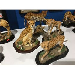 HUNTER ARTS LEOPARDS X 3 & LEOPARD WITH BABIES