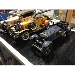 METAL CAR MODELS X 3