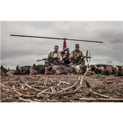 Air Wolfe Heli Predator Management Hunt