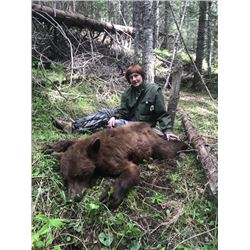 Idaho, USA -- 1 Hunter for 6-Day Spring Black Bear Hunt