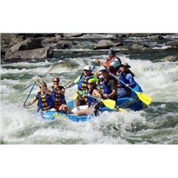 Idaho, USA -- 2 People for 5-Day/4-Night White Water Rafting Package on the Main Salmon River