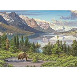 Canvas Print: CROWN OF THE CONTINENT by Gary Johnson Studio