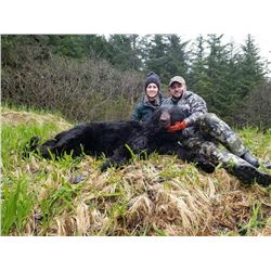 Prince Edward Sound, Alaska -- One Hunter for 6-Day Black Bear Hunt