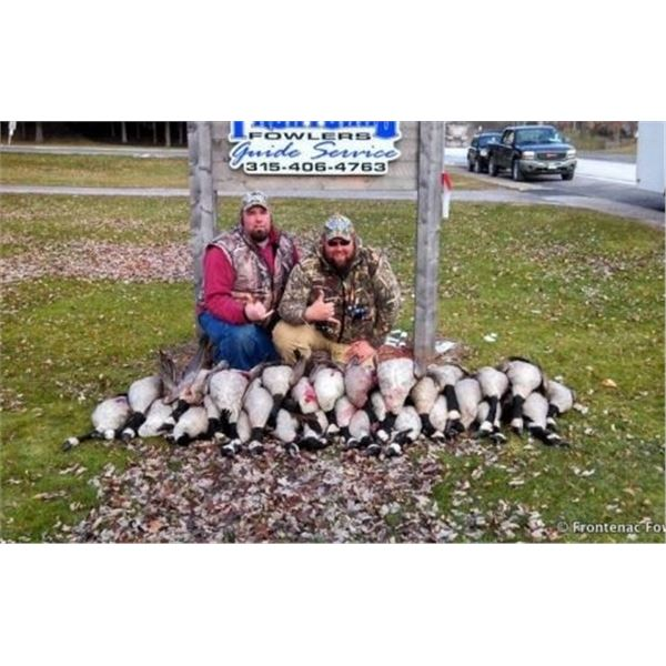 New York, USA -- 2 Hunters for 1 Day Waterfowl Hunt