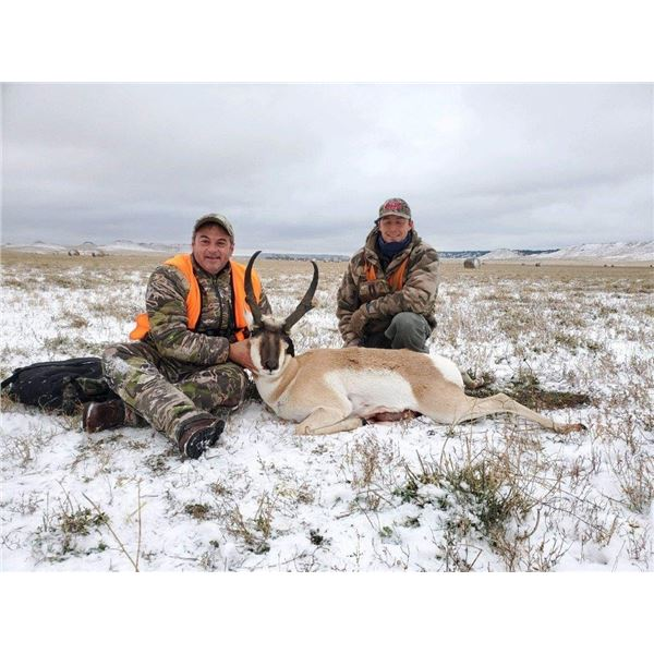 Montana, USA -- 1 Hunter for 4-day Archery Antelope Hunt