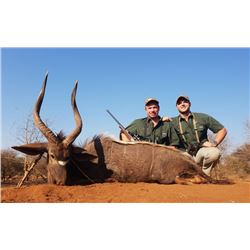 Nyala and Plains Game Hunt with Thaba Tala Safaris in South Africa
