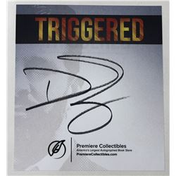 """""""Triggered"""" Book, Signed by Donald Trump, Jr."""