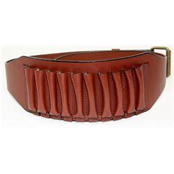Leather Cartridge Belt & Canvas Bag