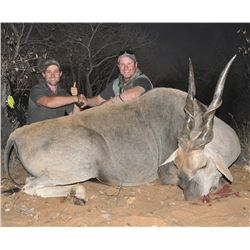 Namibia Six Day Trophy Eland Tracking Hunt
