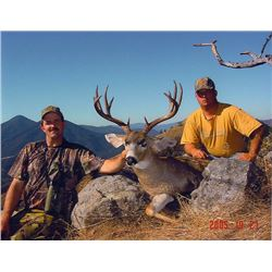 Oregon 5-Day Columbian Blacktail Deer Hunt