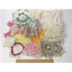 LOT OF CROCHET PIECES